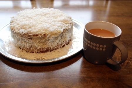 tea and cake Stock Photo - 18514460