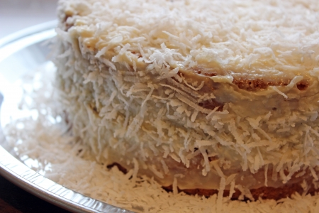 coconut cake Stock Photo - 18514492