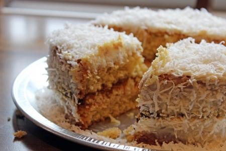 slice of cake  photo