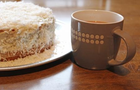 tea and cake  photo