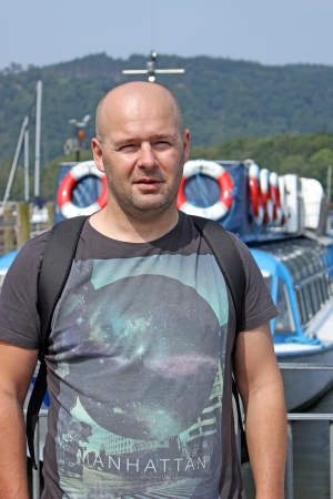 man near boats