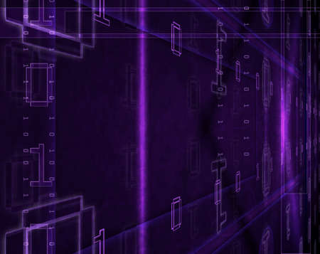 designed: Computer designed abstract binary code background