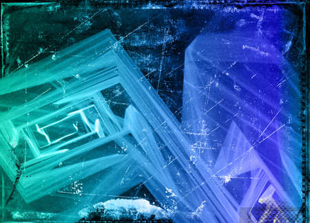 Computer designed abstract grunge background photo