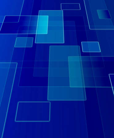 Computer designed blue abstract background Stock Photo