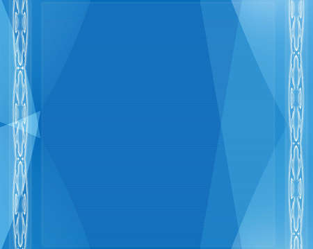 Computer designed blue modern abstract style background Stock Photo - 3845746