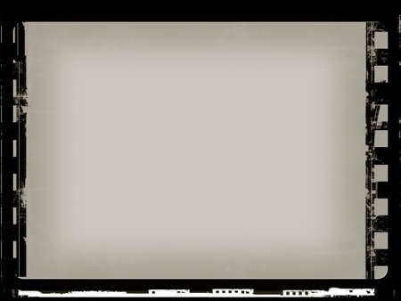 Computer designed highly detailed grunge film frame with space for your text or image Stock Photo - 3859122