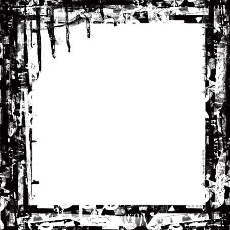 highly: Computer designed highly detailed grunge border , great grunge layer for your projects.
