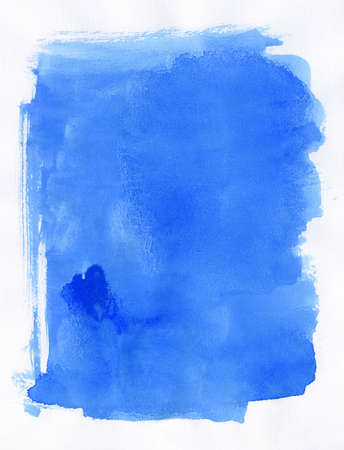High detailed hand painted watercolor background. Nice grunge element for your projects