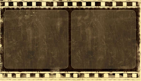Computer designed highly detailed film frame with space for your text or image. Nice grunge layer for your projects. Stock Photo - 3868323