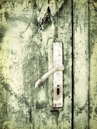 Computer designed highly detailed grunge textured abstract collage - old doors Stock Photo - 3868256
