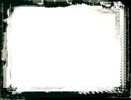 highly: Computer designed highly detailed grunge border with space for your text or image. Great grunge layer for your projects.
