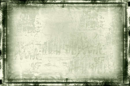 highly: Computer designed highly detailed  border and aged textured  background with space for your text or image. Nice grunge layer for your projects.