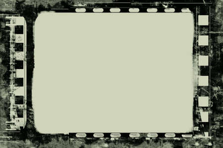 Computer designed highly detailed film frame with space for your text or image. High resolution image. Stock Photo - 3920476