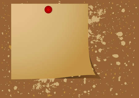 Editable vector background - Note pad reminder on a message board photo