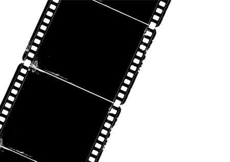 Editable grunge film frame Stock Photo - 5002886