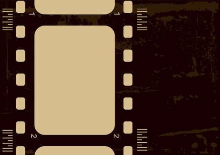 Editable grunge film frame Stock Photo - 5002645