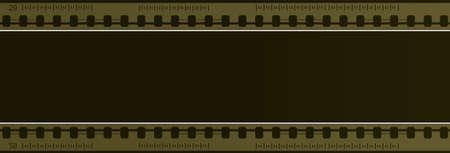 plate camera: Computer designed negative film frame