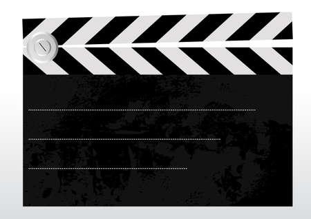 Bewerkbare achtergrond - oude grungy getextureerde duig met ruimte voor uw tekst Vector Illustratie