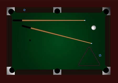 snooker room: Sfondo modificabile pool table con spazio per il testo