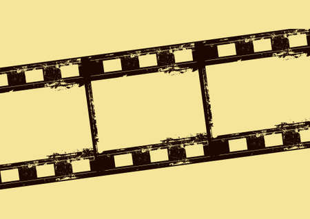 Editable film frame background with space for your text or image. Stock Vector - 7316611