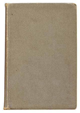 Highly detailed Antique book isolated on white ,great design element or grunge textured layer for your projects. photo