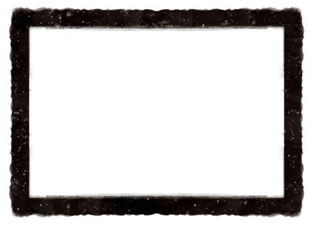 Computer designed high detailed grunge antique photo frame with space for your text or image. Great grunge element for your projects Stock Photo - 7325914