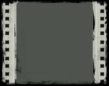 Computer designed highly detailed film frame with space for your text or image.Nice grunge element for your projects Stock Photo - 7325949
