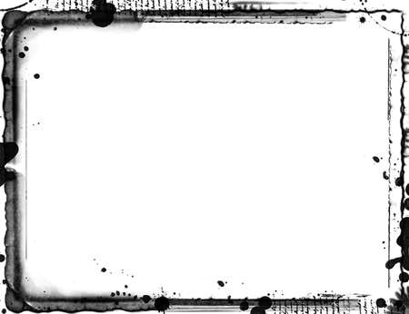 grunge layer: Computer designed highly detailed grunge border with space for your text or image. Great grunge layer for your projects.