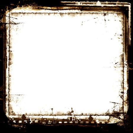an overlay: Equipo hab�a dise�ado frontera de grunge muy detallado con espacio para texto o imagen. Capa de gran grunge para sus proyectos.