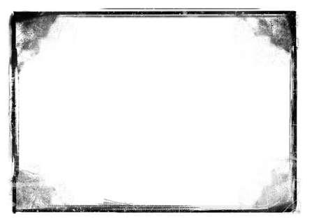 nakładki: Komputer zaprojektowane obramowanie bardzo szczegółowe grunge z miejscem na tekst lub obraz. Wielki grunge warstwy dla potrzeb projektów.