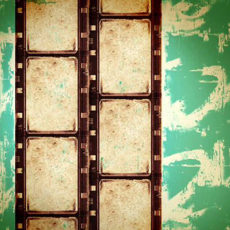 Computer designed highly detailed film frame with space for your text or image.Nice grunge element for your projects photo