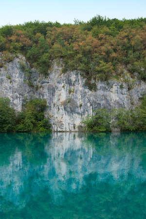 Beautiful landscape of a green lake Stock Photo - 7479714
