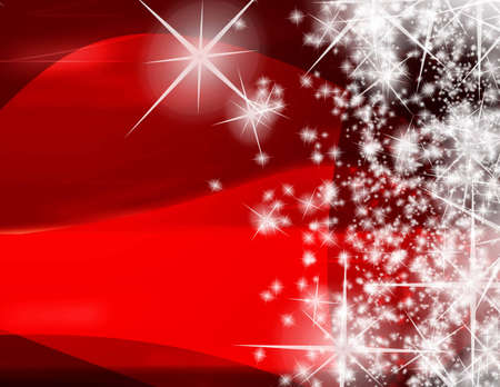 Computer designed modern red Christmas background Stock Photo - 7479804