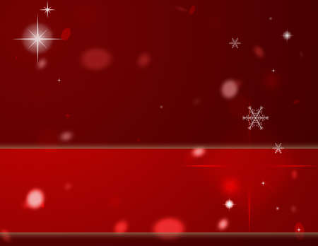 Computer designed modern red Christmas background Stock Photo - 7479620