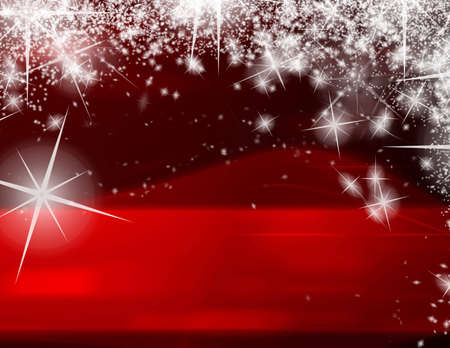 Computer designed modern red Christmas background Stock Photo - 7479801
