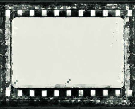 Computer designed highly detailed film frame with space for your text or image.Nice grunge element for your projects Stock Photo - 7479745
