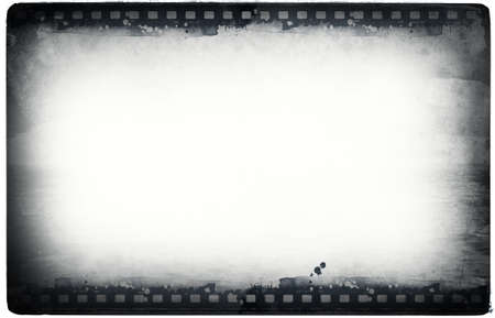 photographic film: Computer designed highly detailed film frame with space for your text or image.Nice grunge element for your projects