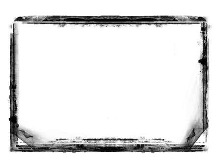 Equipo había diseñado grunge altamente detalladas de frontera en blanco con espacio para texto o imagen. Capa de gran grunge para las imágenes de projects.More como éste en mi cartera  Foto de archivo - 7500480