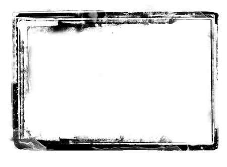 space for images: Computer designed highly detailed grunge border over white with space for your text or image. Great grunge layer for your projects.More images like this in my portfolio