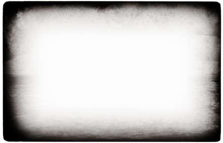 an overlay: Equipo hab�a dise�ado grunge altamente detalladas de frontera en blanco con espacio para texto o imagen. Capa de gran grunge para sus proyectos.