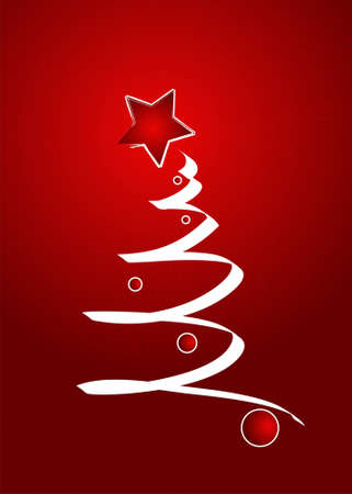 Editable vector Christmas background with space for your text Vector