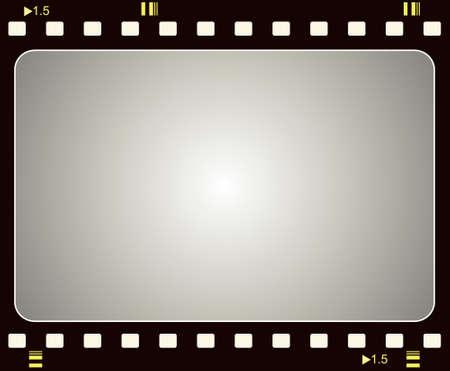 filmnegativ: Bearbeitbare Vektor Film Frame Hintergrund mit Platz f�r Ihre Text- oder Image. Weitere Bilder wie dies in meinem portfolio  Illustration