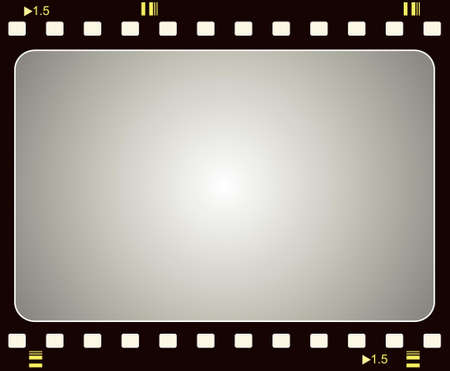 Editable vector film frame background with space for your text or image.  More images like this in my portfolio Vector
