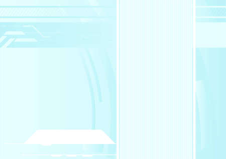 Editable vector high-tech futuristic background with space for your text Vector