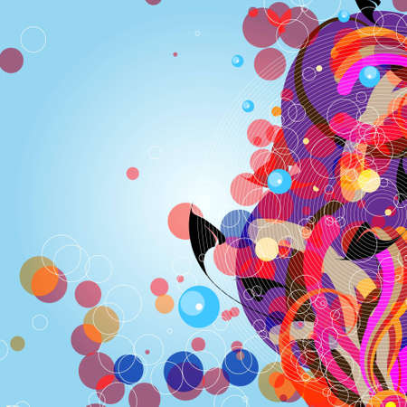 space for images: Editable vector abstract background with space for your text. More images like this in my portfolio