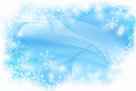 new yea: Modern winter background with space for your text Stock Photo