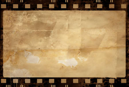 paper screens: Computer designed highly detailed film frame with space for your text or image. Nice grunge element for your projects. More images like this in my portfolio