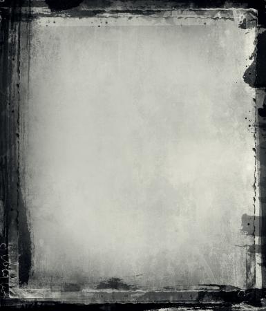 Equipo había diseñado marco grunge muy detallado con espacio para texto o imagen. Capa de gran grunge para sus proyectos.Imágenes más como esto en mi cartera Foto de archivo - 8720576