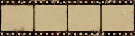 papel quemado: Ordenador diseñado fotograma de la película muy detallada