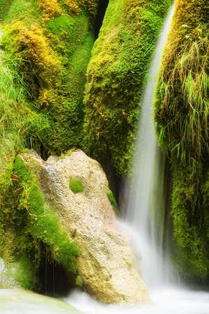 Beautiful waterfall at Plitvice Lakes National Park Stock Photo - 11076915